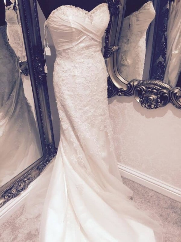 Satin dress – Size 10 dress – Worcester - Size 10