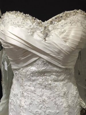 Satin dress – Size 10 dress – Worcester - 2