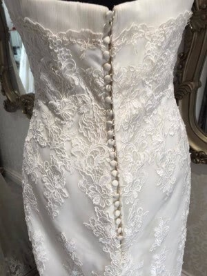 Lace dress – Size 12 dress – Evesham - 6