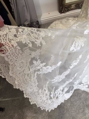 Lace dress – Size 12 dress – Evesham - 3