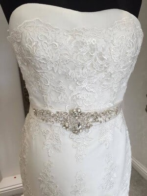 Lace dress – Size 12 dress – Evesham - 4