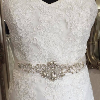 Lace Mori-Lee Wedding Dress | £695