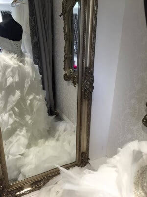 Tulle dress – Size 6 dress – Evesham - 4