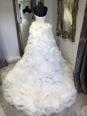 Tulle dress – Size 6 dress – Evesham - 5