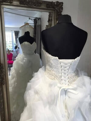 Tulle dress – Size 6 dress – Evesham - 7