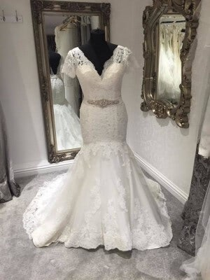 Lace dress – Size 10 dress – Evesham