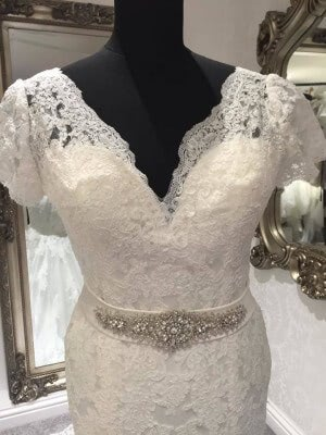 Lace dress – Size 10 dress – Evesham - 5