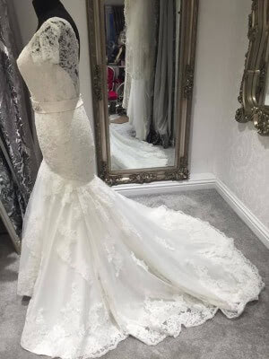 Lace dress – Size 10 dress – Evesham - 3