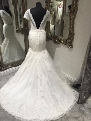 Lace dress – Size 10 dress – Evesham - 2