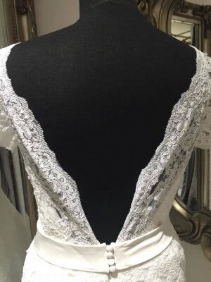 Lace dress – Size 10 dress – Evesham - 4