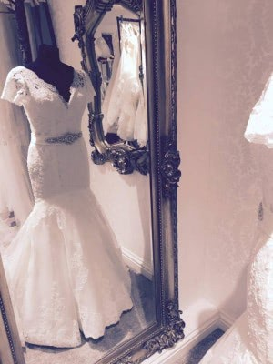 Lace dress – Size 10 dress – Evesham - 8