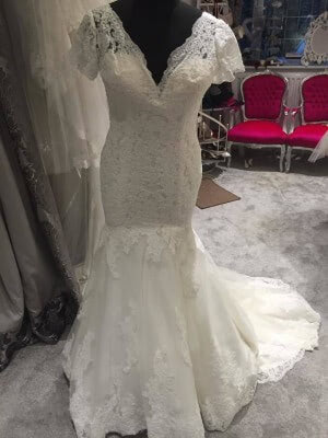 Lace dress – Size 10 dress – Evesham - 7