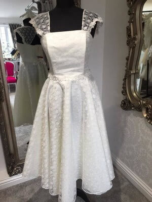 Tulle dress – Size 12 dress – Evesham - 3
