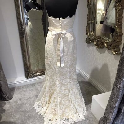 Beverly Lister Lace Wedding Dress | £550