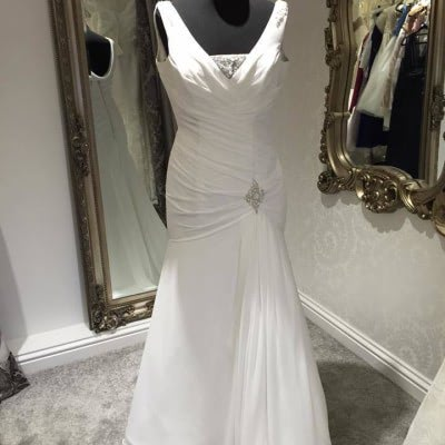 Ellis Bridal Mermaid Wedding Dress | £400