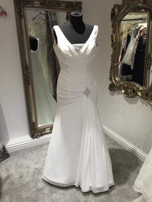Ellis Bridal – Size 12 dress – Evesham - Size 12