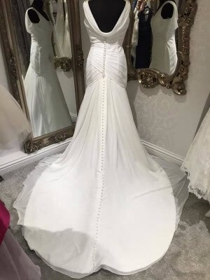 Ellis Bridal – Size 12 dress – Evesham - 5