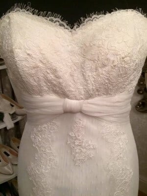 Lace dress – Size 14 dress – Evesham - 3