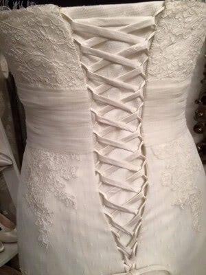 Lace dress – Size 14 dress – Evesham - 4