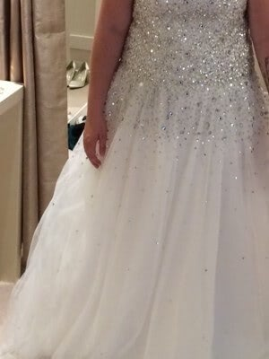 Tulle dress – Size 14 dress – Ellon
