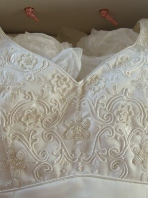 Satin dress – Size 10 dress – blairgowrie - 3