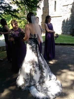 Maggie Sottero – Size 10 dress – Ashbourne - 2