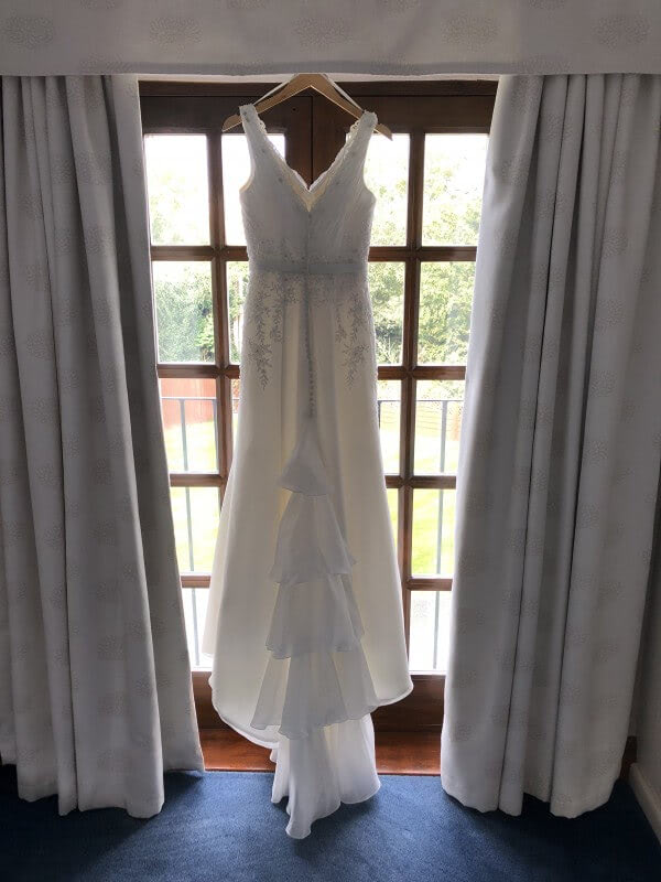 Organza dress – Size 12 dress – South Croydon - Size 12