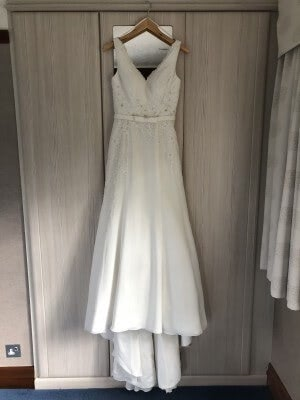 Organza dress – Size 12 dress – South Croydon - 4