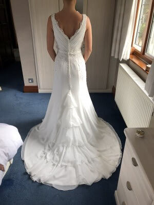 Organza dress – Size 12 dress – South Croydon - 2