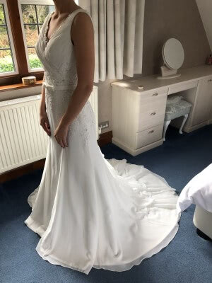 Organza dress – Size 12 dress – South Croydon - 5