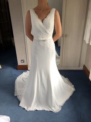 Organza dress – Size 12 dress – South Croydon - 3