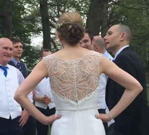 Maggie Sottero – Size 8 dress – crowthorne - 2