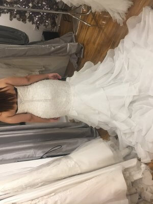 Brocade dress – Size 6 dress – Birmingham - 5
