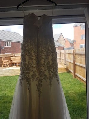 Mori Lee – Size 6 Fishtail dress | Second hand wedding dresses Tibshelf - 6
