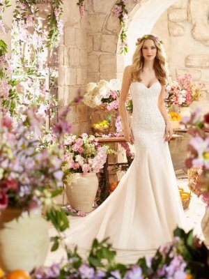 Mori Lee – Size 6 Fishtail dress | Second hand wedding dresses Tibshelf