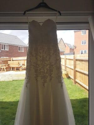 Mori Lee – Size 6 Fishtail dress | Second hand wedding dresses Tibshelf - 5