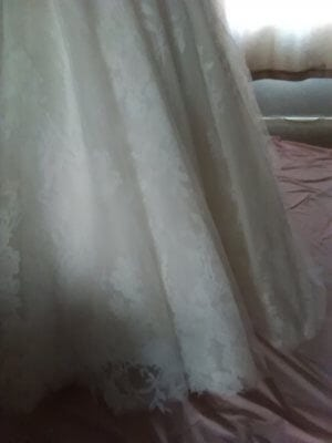 Aamira Bridal – Size 12 A-Line dress | Second hand wedding dresses Chesterfield - 7