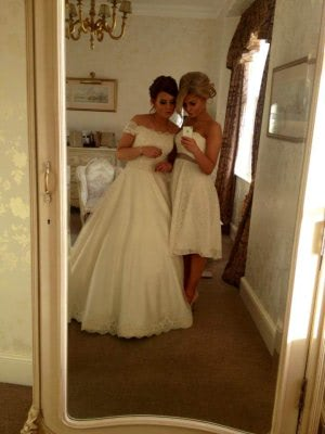 Ritva Westenius – Size 8 A-Line dress | Second hand wedding dresses Cumbria - 3