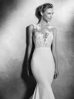 Pronovias – Size 6 Fishtail dress | Second hand wedding dresses MANCHESTER