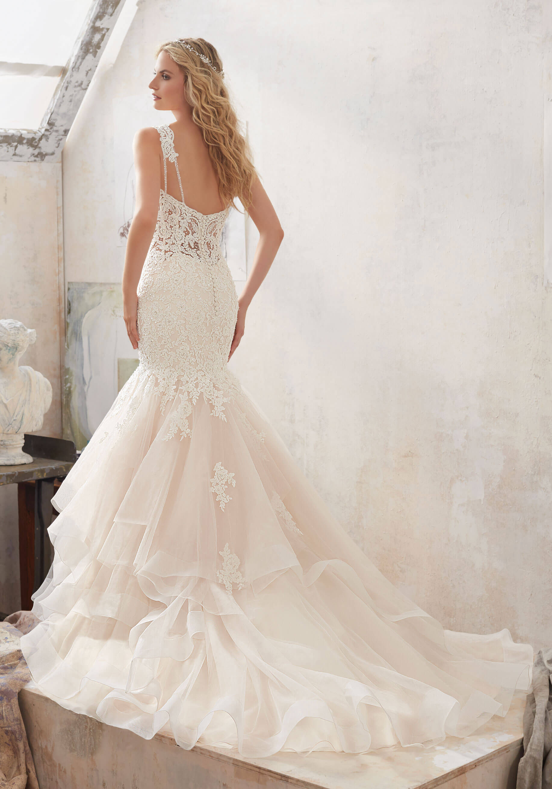 Mori Lee - Size 12 Fit And Flare Dress