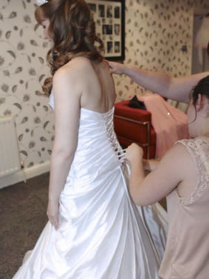 Sottero and Midgley – Size 8 A-Line dress | Second hand wedding dresses London - 3