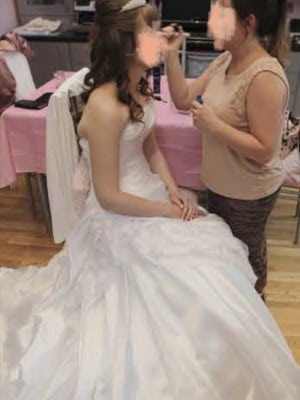 Sottero and Midgley – Size 8 A-Line dress | Second hand wedding dresses London - 4