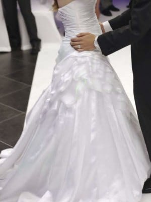 Sottero and Midgley – Size 8 A-Line dress | Second hand wedding dresses London - 5