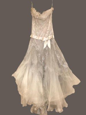 Elie Saab – Size 10 Strapless dress | Second hand wedding dresses London - 3