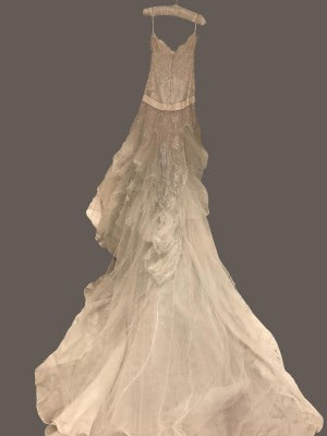 Elie Saab – Size 10 Strapless dress | Second hand wedding dresses London - 4