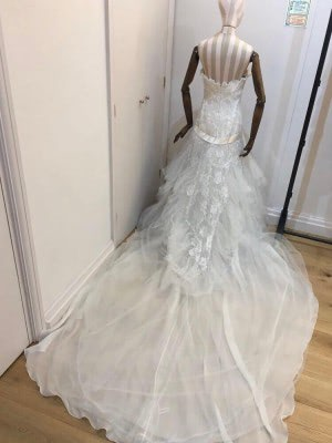Elie Saab – Size 10 Strapless dress | Second hand wedding dresses London - 7