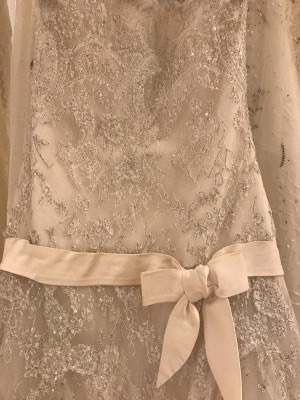 Elie Saab – Size 10 Strapless dress | Second hand wedding dresses London - 5