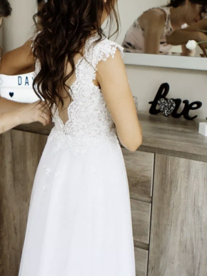 Bespoke / Other – Size 6 A-Line dress | Second hand wedding dresses Crewe - 3