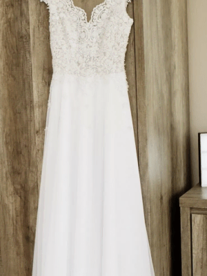 Bespoke / Other – Size 6 A-Line dress | Second hand wedding dresses Crewe - 4