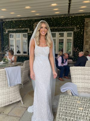 Jane Hill – Size 8 Fishtail dress   Second hand wedding dresses Armagh